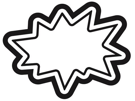 starburst clipart superhero  clipart