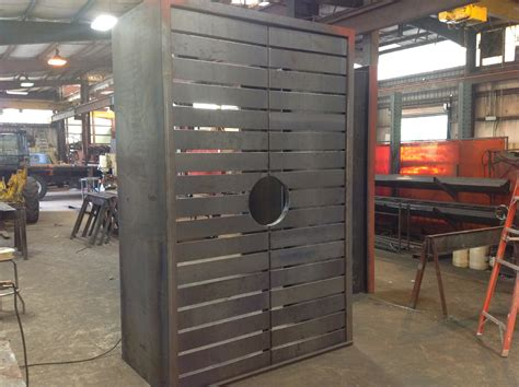 Custom Metal Doors by Richmond Steel Custom Steel Fabrication In Central Va