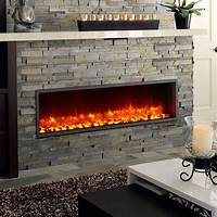built in electric fireplace Built-In Electric Fireplace Insert - MantelsDirect.com