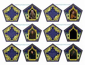 6 best images of printable chocolate frogs wizard cards With chocolate frog box template printable