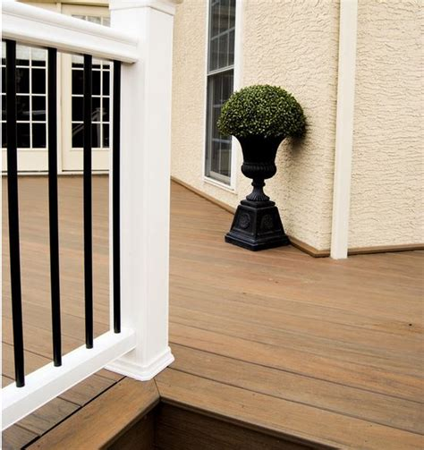 timbertech legacy pecan grooved  schillings
