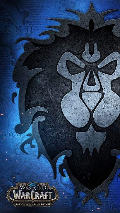 Warcraft Battle Azeroth Wow Wallpapers Mobile Alliance