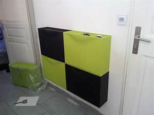 Meuble Rangement Chaussures Ikea : meuble chaussures trones ikea ~ Teatrodelosmanantiales.com Idées de Décoration