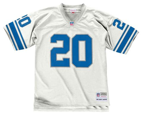 Barry Sanders Detroit Lions Men's Nfl Mitchell & Ness
