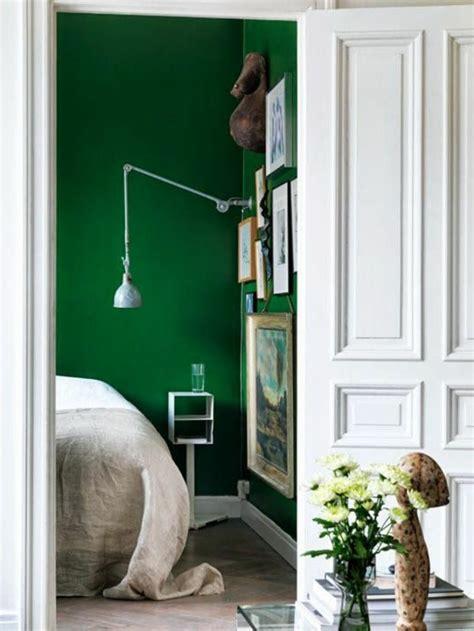 Grüne Wand Schlafzimmer by 55 Ideen F 252 R Gr 252 Ne Wandgestaltung Im Schlafzimmer