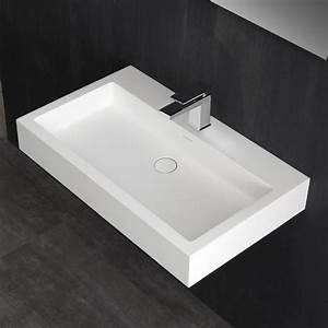 Mineralguss Waschbecken Reparieren : stoneart waschtisch lp4508 wei 80x48cm matt ebay ~ Lizthompson.info Haus und Dekorationen
