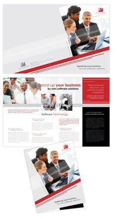 Software Solutions Tri Fold Brochure Template Word Free Brochure Template Microsoft Word Publisher