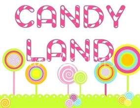 Printable Candyland Signs