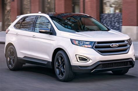 ford edge 2018 2018 ford edge gains sel sport appearance package motor