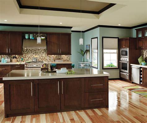Contemporary Cherry Kitchen Cabinets  Decora Cabinetry