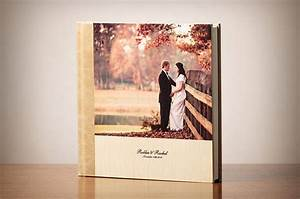 hand crafted leather wood signature wedding albums With wedding albums for photographers
