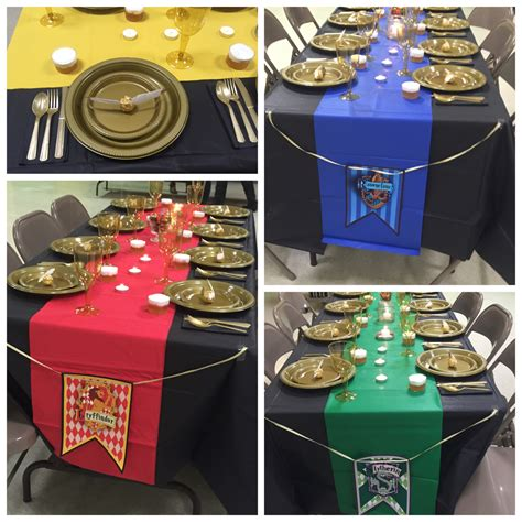 harry potter table l harry potter baby shower table decorations and place