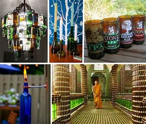 Booze it Up! 13 Rad Recycled Bottle Crafts & Projects ...