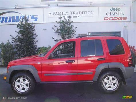dark green jeep patriot 2005 flame red jeep liberty sport 4x4 20720975 gtcarlot