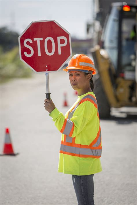 Let's keep working to improve safety for traffic flaggers ...