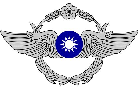 file republic of china air force rocaf logo svg wikimedia commons