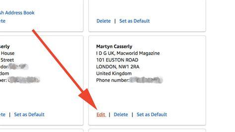 stop deliveries weekend address below edit then change option want