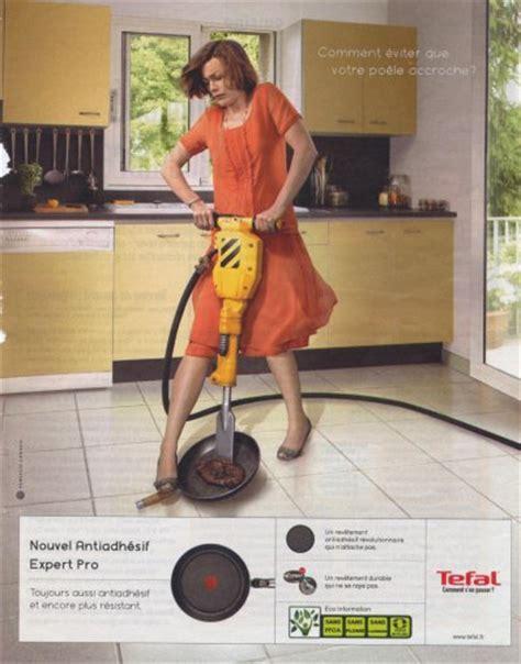 marteau cuisine analyse d 39 une publicité pour une poêle tefal de