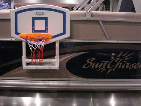 Pontoon Basketball Hoop 43 best images about pontoon on boats