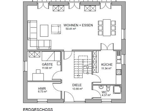 Stadtvilla 198  Stadtvilla Grundriss Modern Mit Knapp 200 Qm