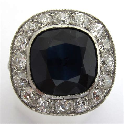 bague deco saphir pin 1920s 1930s page 1 on