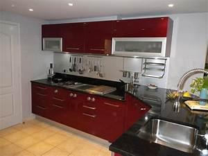 deco salon beige et rouge With superior quelle couleur avec du taupe 17 cuisine moderne noir et violet