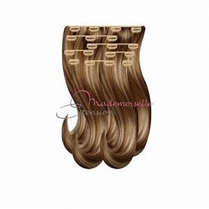 Meche Blond Doré : extension a clip lisse blond meche dore mademoiselle ~ Nature-et-papiers.com Idées de Décoration