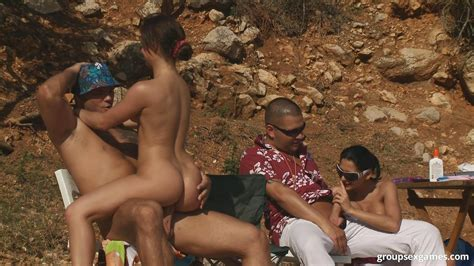A Day At A Nude Beach Turns Into A Day Of Group Sex
