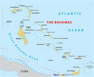 Detailed Map of Nassau Bahamas