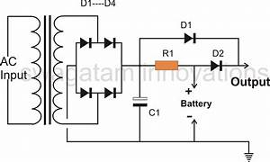 simple led emergency light circuit With say a battery is supplying 12 volts to a circuit