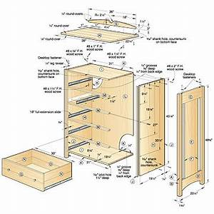 Woodwork Blueprints Wood Dresser PDF Plans