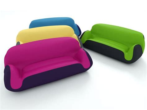 canapé gonflable extérieur 1 canapé gonflable coloré pour votre salon