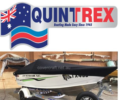 Quintrex Wake Boat by Boat Covers Melbourne Fishing Boat Covers Ski And