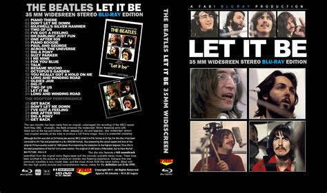 Beatles Blu Ray Dvd  Let It Be