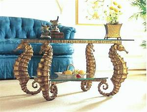 summer seahorses the english room With seahorse coffee table