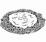 Spaghetti Coloring Cheese Colored Df Colorear Pasta Coloringcrew Bread sketch template