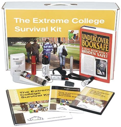 extreme college survival kit stay safe    campus