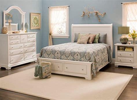 cottage  pc queen platform bedroom set  storage bed