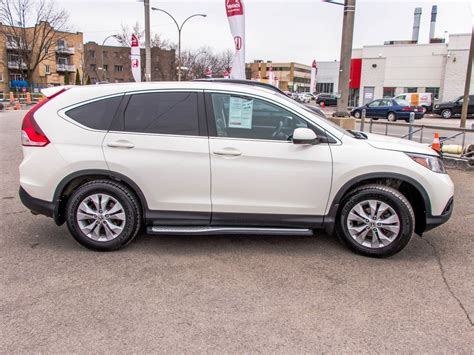 Pre-owned 2014 Honda Cr-v Ex-l Lallier Honda Montreal In