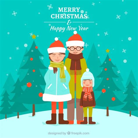 40,000+ vectors, stock photos & psd files. Family background for merry christmas and happy new year ...