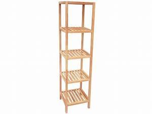 Etagere En Bois Salle De Bain : etagere d 39 angle salle de bain conforama ~ Preciouscoupons.com Idées de Décoration
