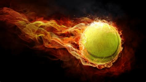 tennis ball  fire  suncoaststore inktale