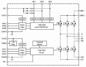 3 Phase Motor Inverter Circuit Diagram