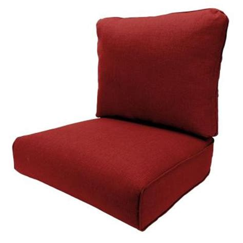 Hton Bay Patio Chair Replacement Cushions by Hton Bay Woodbury Dragonfruit Replacement Outdoor