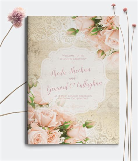 10 off mass booklets the invite hub personalised