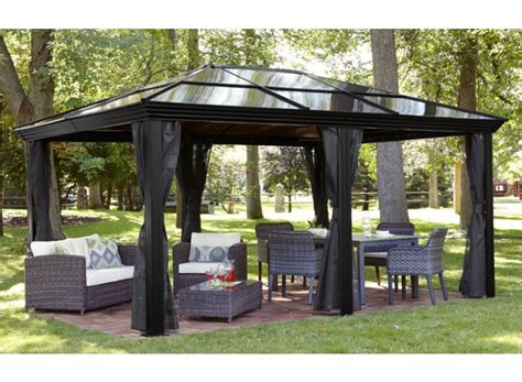 gazebos with polycarbonate roof polycarbonate roof gazebo review buying guide gardenluxe