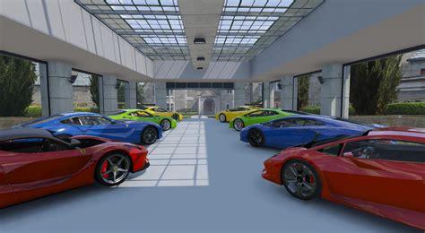Gta 5 Garage by 8 Car Garage Showroom Gta5 Mods