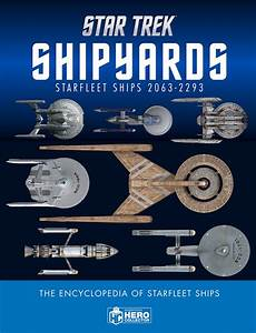 The Trek Collective  New Eaglemoss Starship Model Previews And Book News