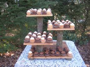 cake stand wedding rustic wedding cake stand cupcake dessert by yourdivineaffair