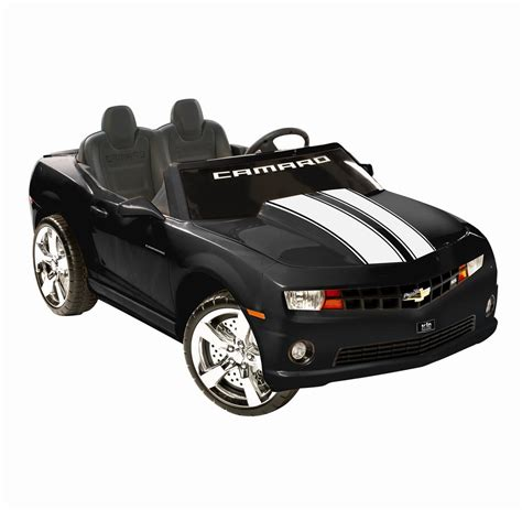 npl chevrolet racing camaro 12v car black or yellow